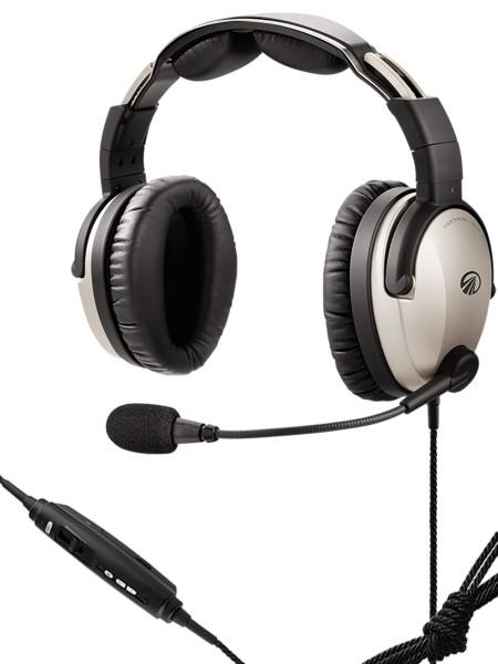 Lightspeed Zulu 3 ANR Headset - Batteriefach, U/174 Helikopter-Stecker