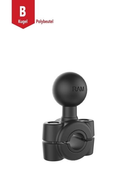 RAM Mounts Torque Rohrschelle - für 9,53-15,88 mm Durchmesser, B-Kugel (1 Zoll), im Polybeutel