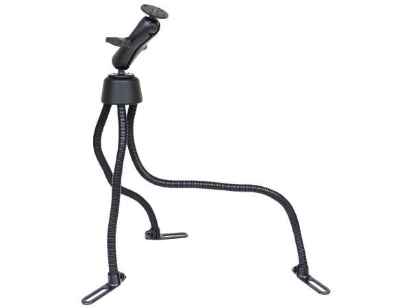 RAM Mounts Pod III Fahrzeug Sitzschienen-Befestigung mit AMPS-Anbindung - flexible Stäbe (ca. 450 /