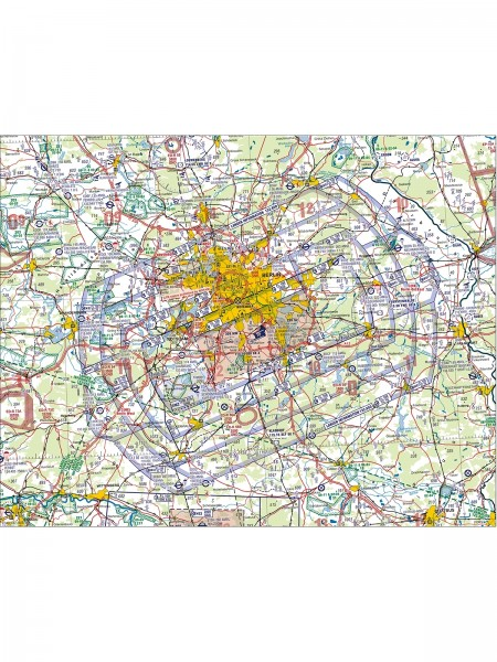 Berlin ACC/FIC (EDDB) Terminal Chart - EFF 09 NOV 2020 - from German AIP VFR