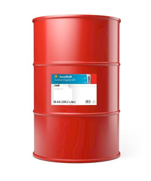 AeroShell Turbine Oil 560 - 55 AG Fass (208,2 Liter)