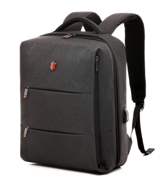 Krimcode Business Formal Backpack - 19.6 liters volume, dark gray (KBFB06-1NDGM)