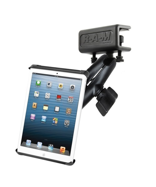 """RAM Mounts Panel Mount with Universal Tab-Tite Cradle for 7"""" Tablets (without sleeves)"""