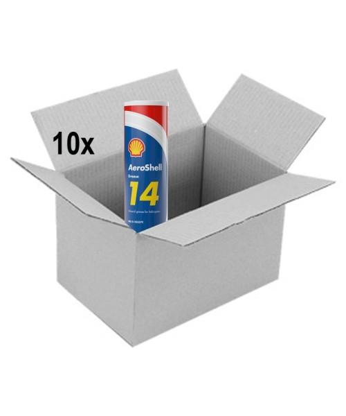 AeroShell Grease 14 - Box (10x Cartridges à 400 g)