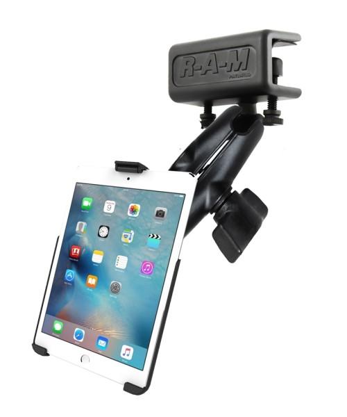 RAM Mounts Panelhalterung für Apple iPad mini 4 (ohne Schutzhüllen) - mittlerer Verbindungsarm