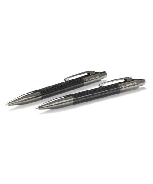 Boeing Stealth Carbon Fiber Pen/Pencil Set