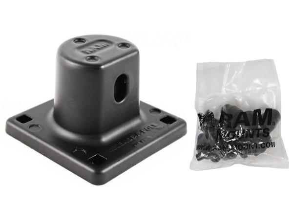 RAM Mounts Remove-A-Pole Basis (männlich) für Fahrzeuge - Schrauben-Set