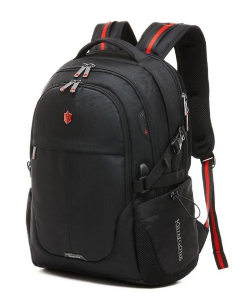 Krimcode Smart Casual Backpack - 36 liters volume, with USB-Port (KSCB03-1U0SM)