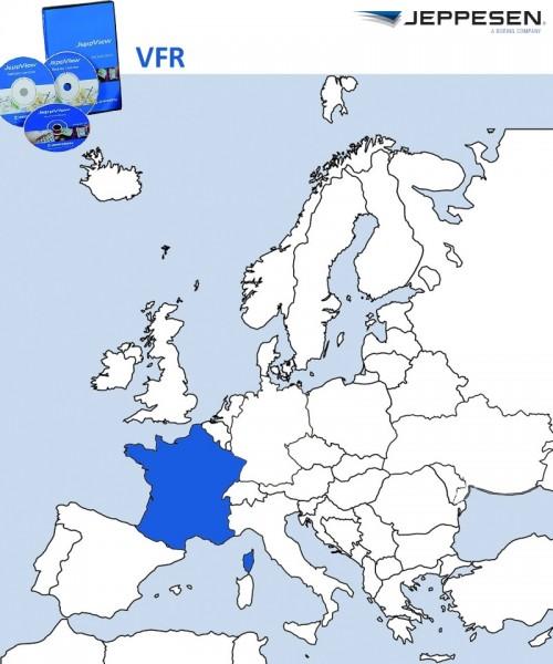 JeppView VFR - France (JVVFR) incl. Revision Service