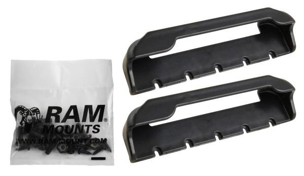 RAM Mounts Tab-Tite Endkappen für 7-8 Zoll Tablets (in Schutzgehäusen) - Schrauben-Set, im Polybeute