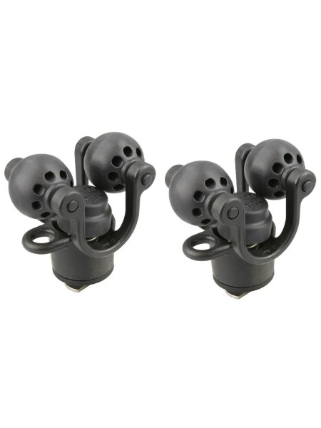 RETAIL RAM 2 PACK ROLLER-BALL PADDLE AND ACCESSORY HOLDER