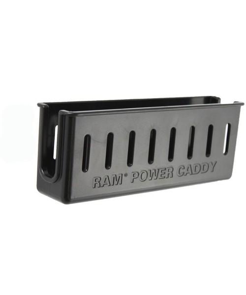 RAM Mounts Kabel-/Netzteilfach für Tough-Tray Universal Laptop-Halteschale - Schrauben-Set, im Polyb