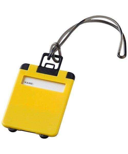 Luggage Tag - yellow/black