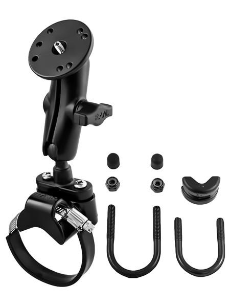 RAM Mounts Lenker-/Rohr-Set für Kameras - Klemmschelle, mittlerer Verbindungsarm, runde Basisplatte