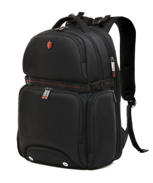 Krimcode Street Casual Backpack - 36 liters volume, black (KSTB13-1N0SM)
