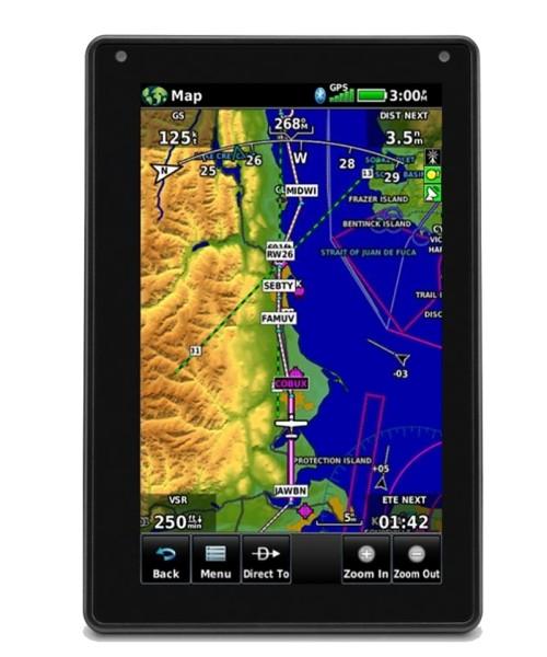 Garmin aera 760 - 7 Zoll Touchscreen Luftfahrt-GPS