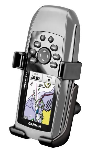 RAM Mounts Gerätehalteschale für Garmin GPSMAP 78/78s/78sc (ohne Schutzhüllen) - Diamond-Anbindung (