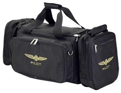 Pilot Bag WEEKEND (black)
