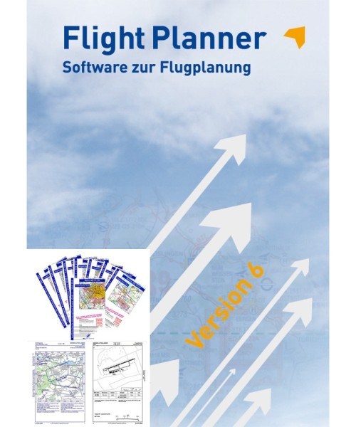 Flight Planner Vollversion inkl. ICAO Karten u. AIP Deutschland