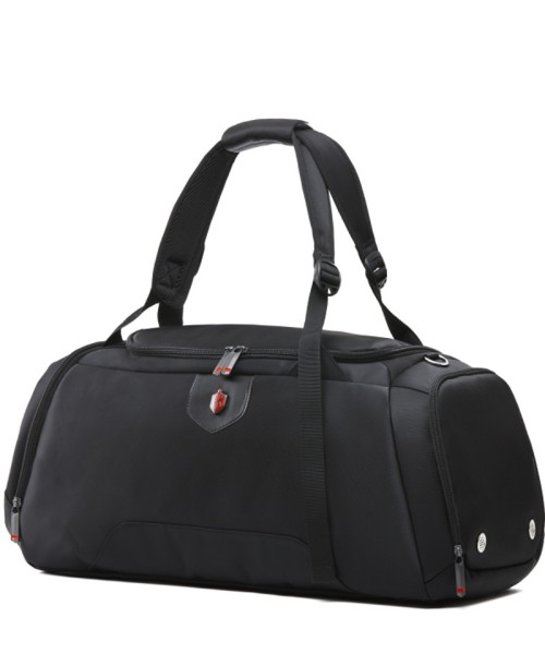 Krimcode Sport Attire Duffel Bag - 50 liters volume, black (KSTL02-1N0SM)
