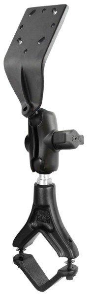 RAM Mounts Set - Pilatus-Klemme, kurzer Verbindungsarm, Adapter für elektronische Geräte, B-Kugel (1