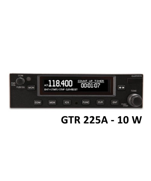 Garmin GTR 225A, Comm, 8,33 & 25 kHz, 10W - incl. Installation Kit (Fixed-Wing only)
