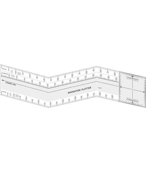 Folding Plotter - Navigation Ruler