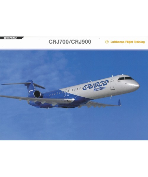 Faltmappe Bombardier CRJ700/900